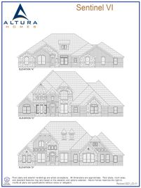 Sentinel VI - Berkshire Estates: Mesquite, Texas - Altura Homes