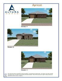 Apricot - Jacksons Run: Greenville, Texas - Altura Homes