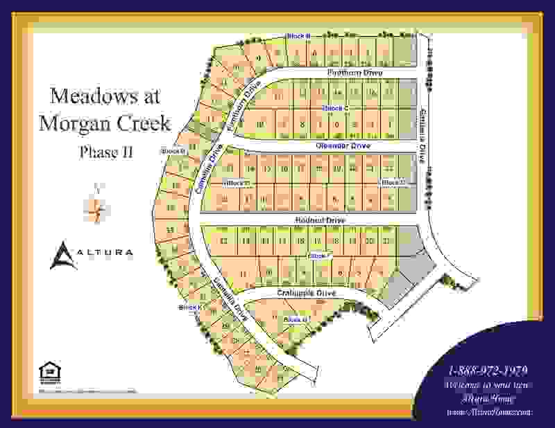 Meadows at Morgan Creek Plat