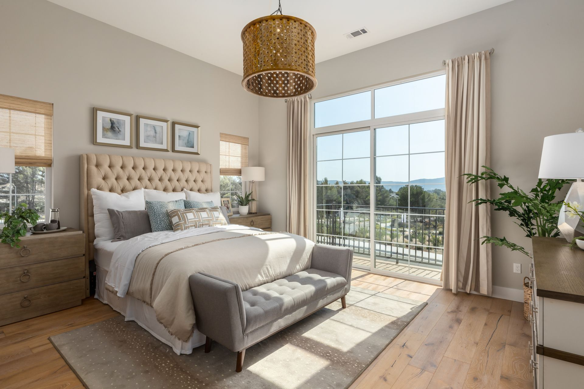 Bedroom featured in the Bishop By Ladera at Righetti in San Luis Obispo, CA