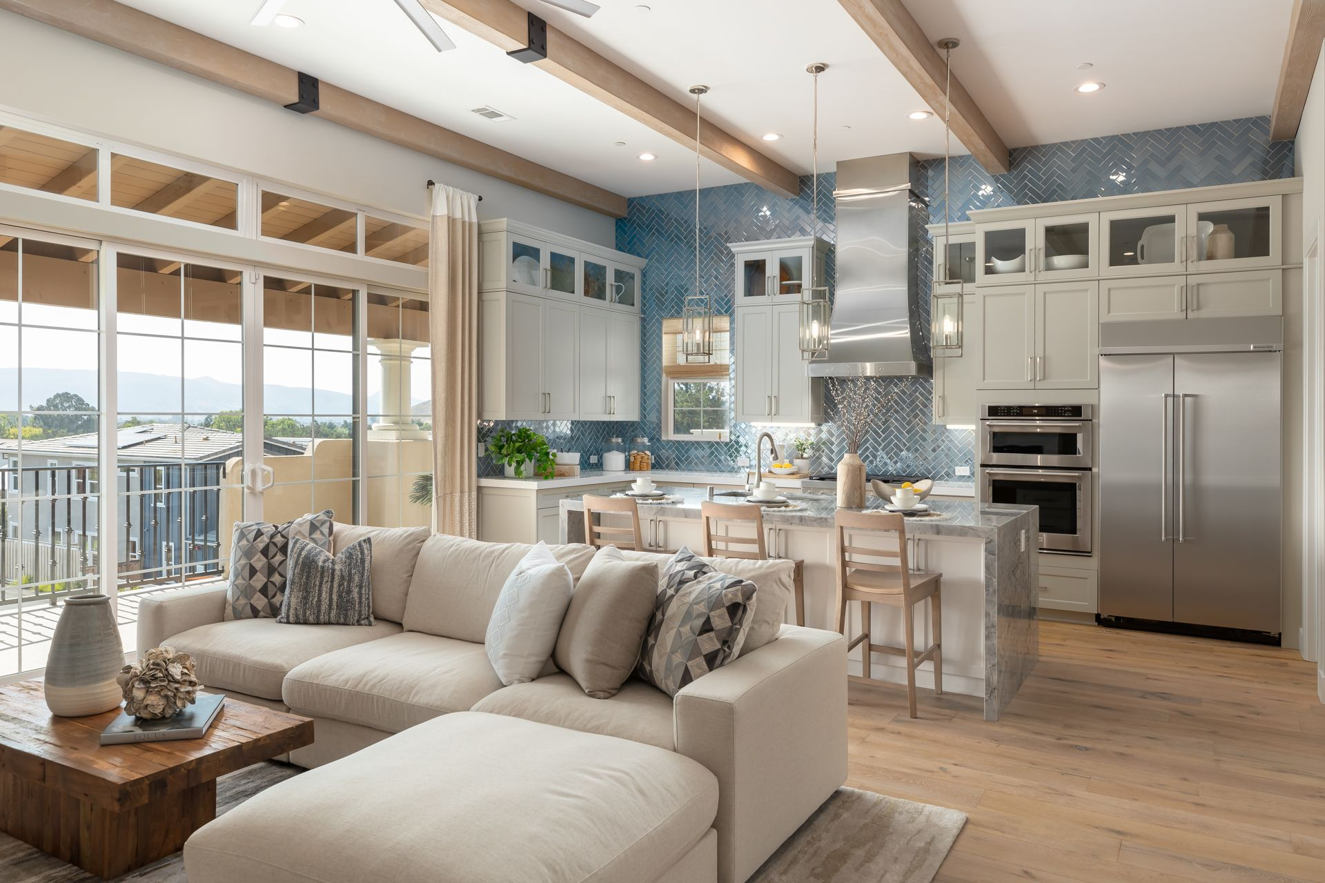 Living Area featured in the Bishop By Ladera at Righetti in San Luis Obispo, CA