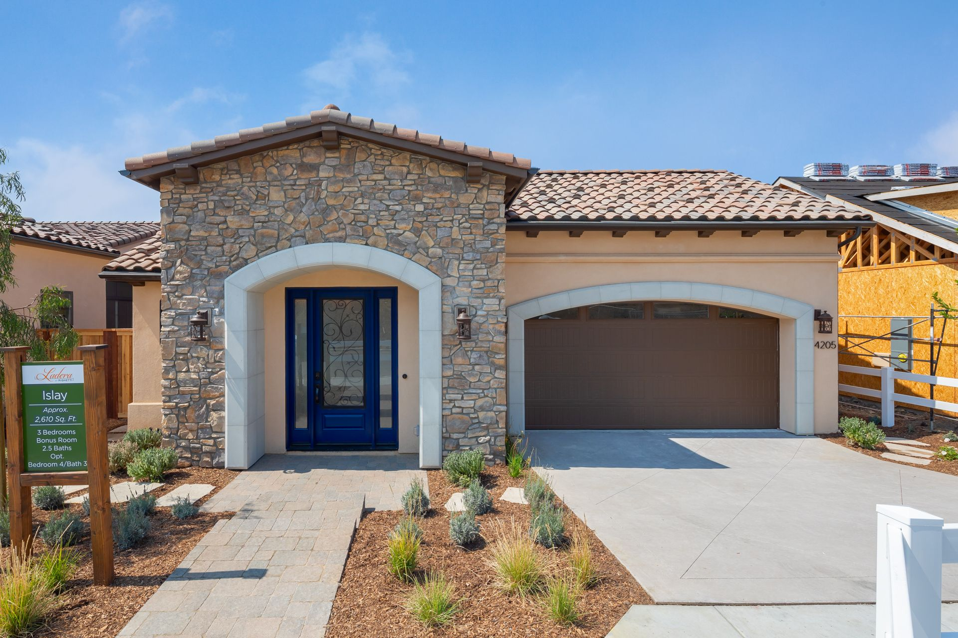 Exterior featured in the Islay By Ladera at Righetti in San Luis Obispo, CA