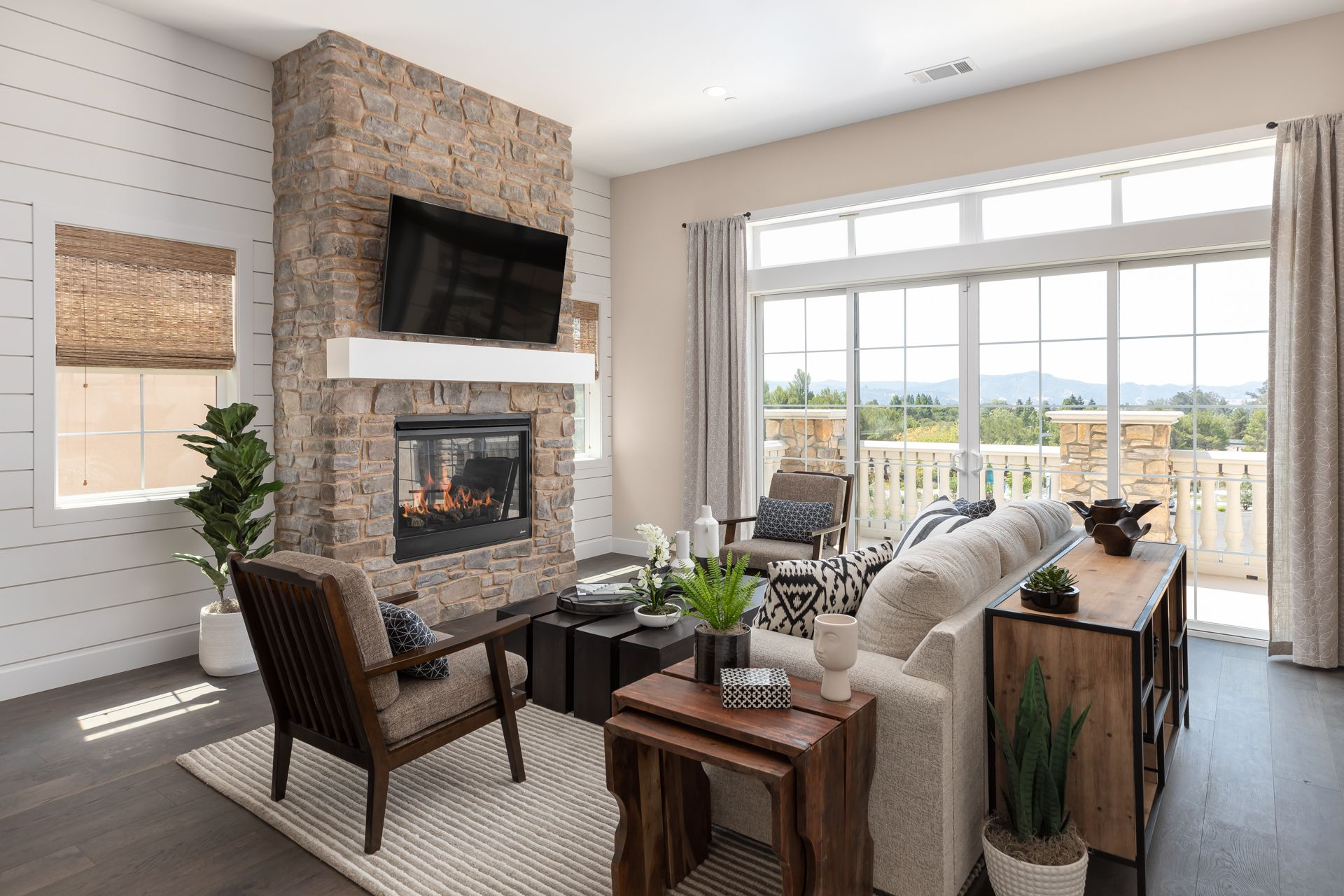 Living Area featured in the Islay By Ladera at Righetti in San Luis Obispo, CA