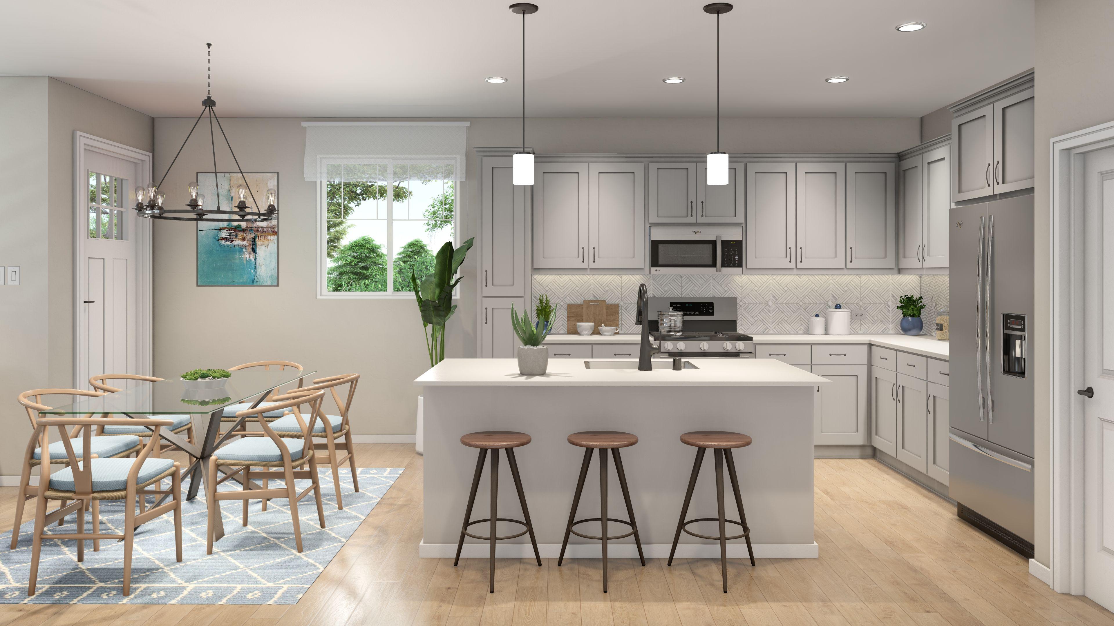 Kitchen featured in the Plan 1 By R at Righetti in San Luis Obispo, CA