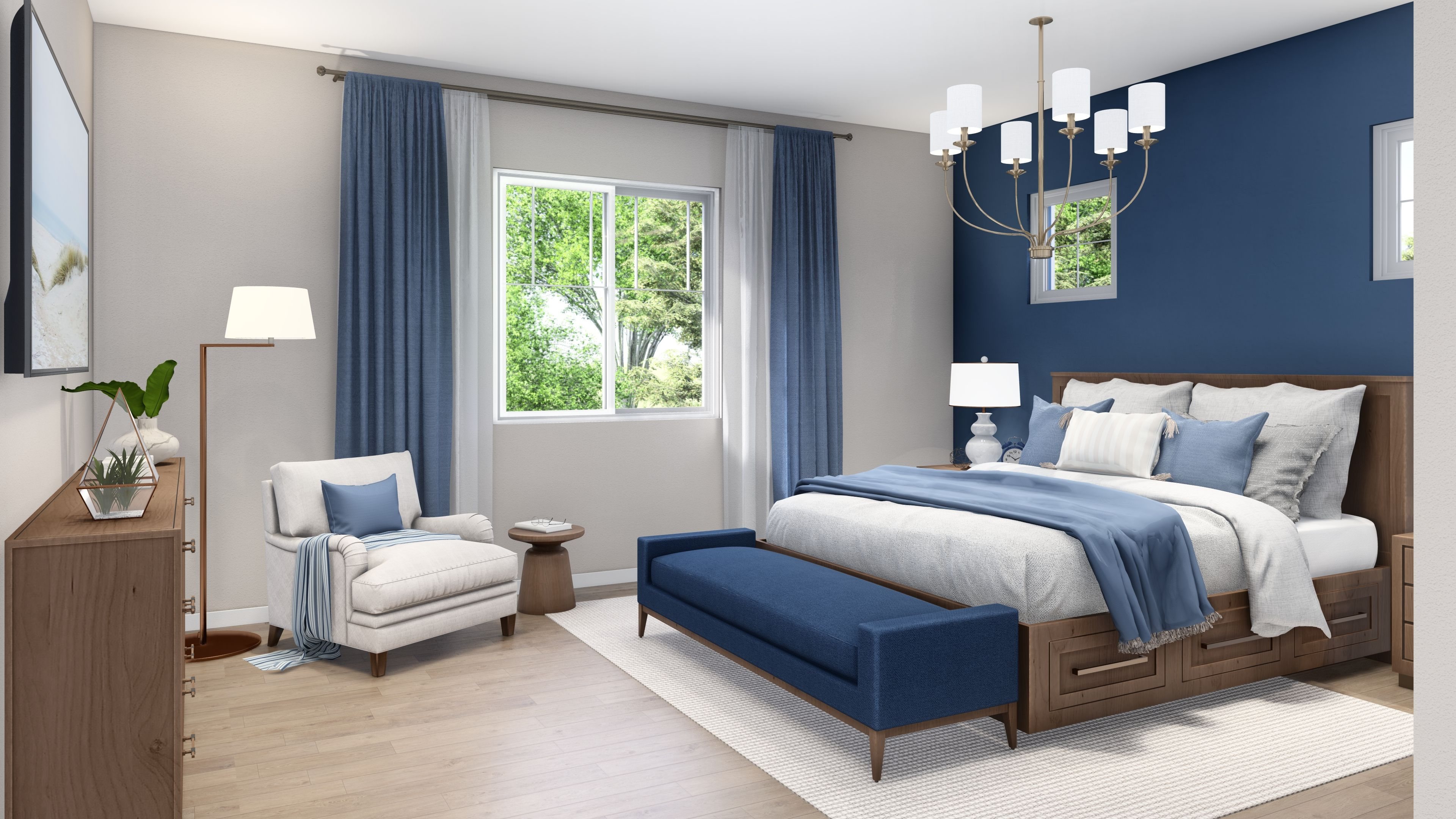 Bedroom featured in the Plan 1 By R at Righetti in San Luis Obispo, CA