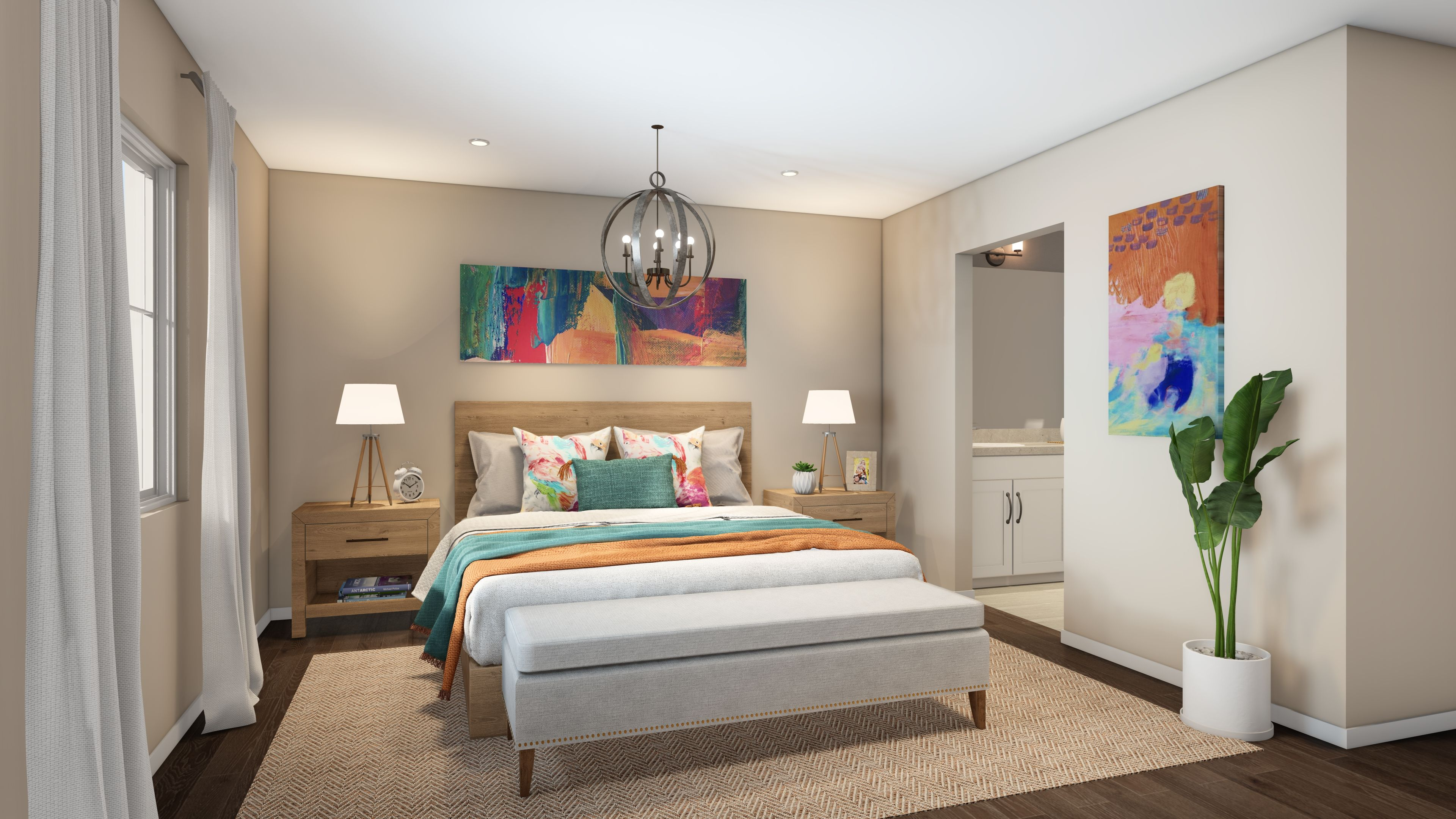 Bedroom featured in the Plan 2 By R at Righetti in San Luis Obispo, CA