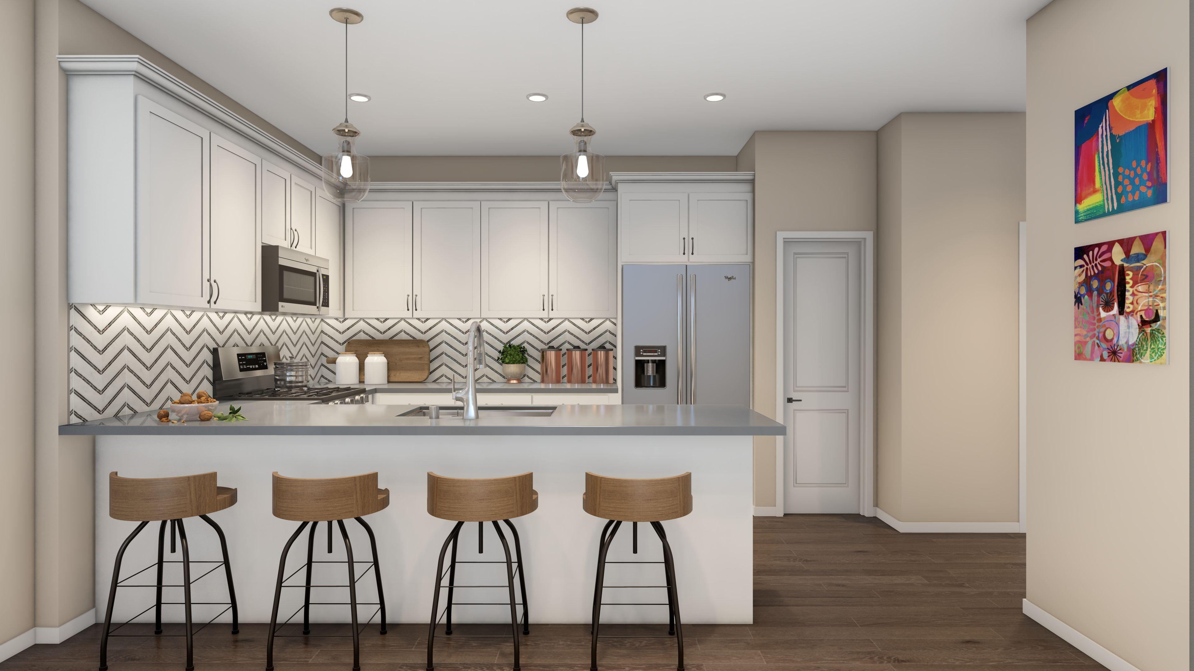 Kitchen featured in the Plan 2 By R at Righetti in San Luis Obispo, CA