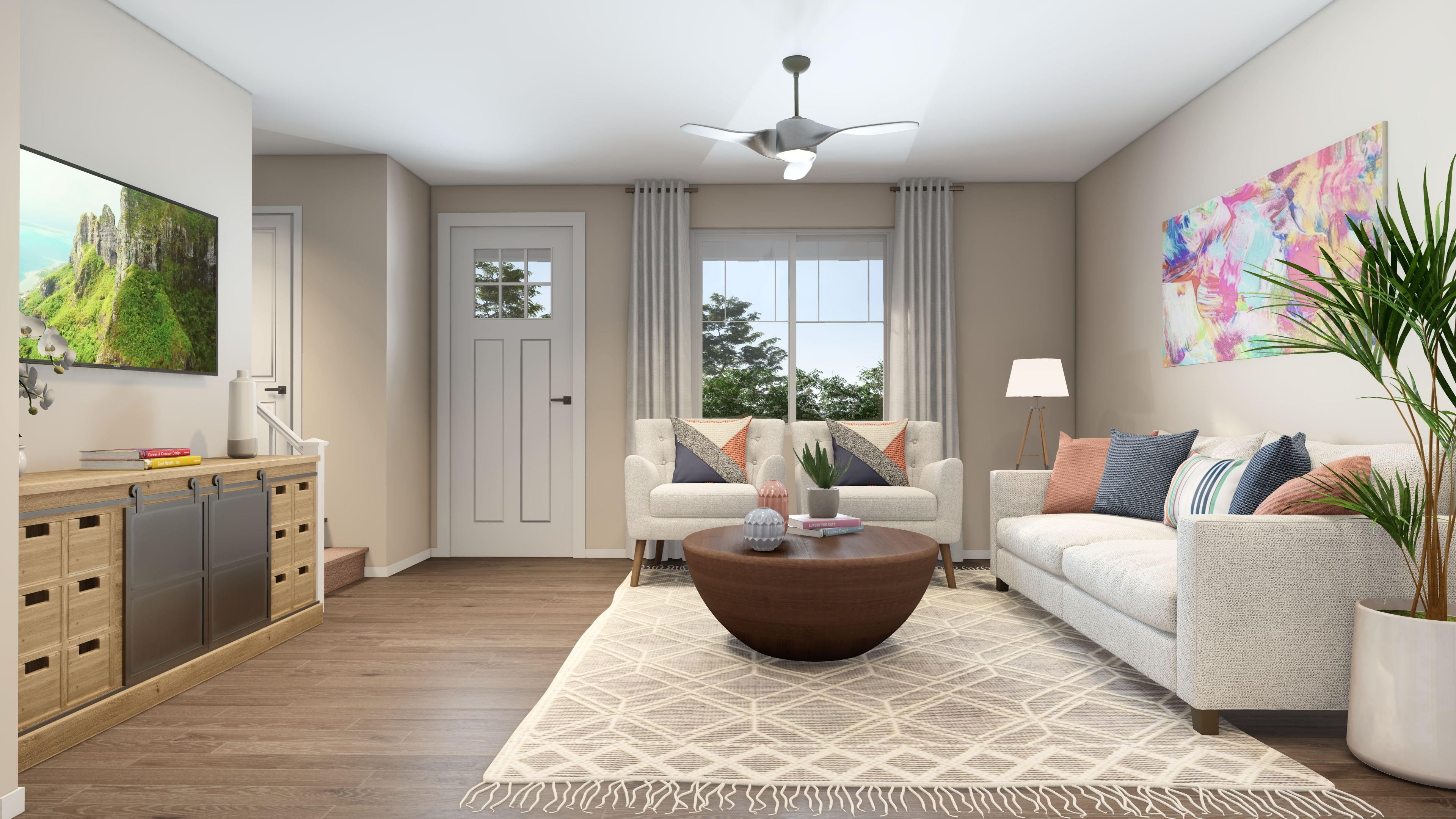 Living Area featured in the Plan 2 By R at Righetti in San Luis Obispo, CA