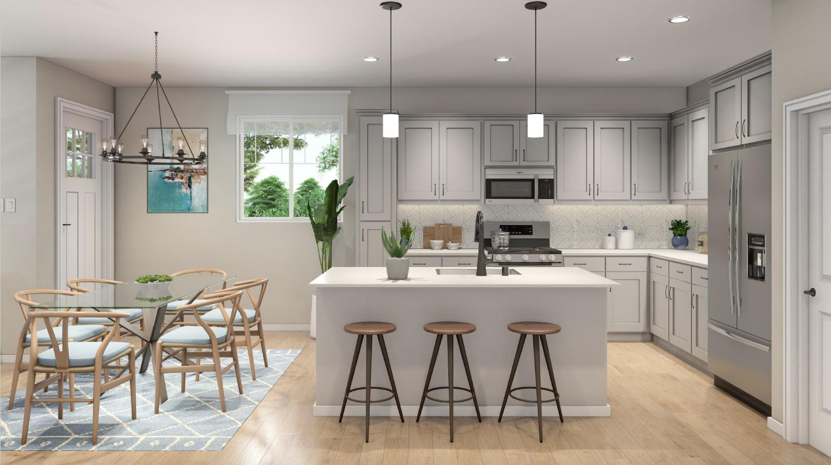 Kitchen featured in the Plan 1 By Ambient Communities in San Luis Obispo, CA