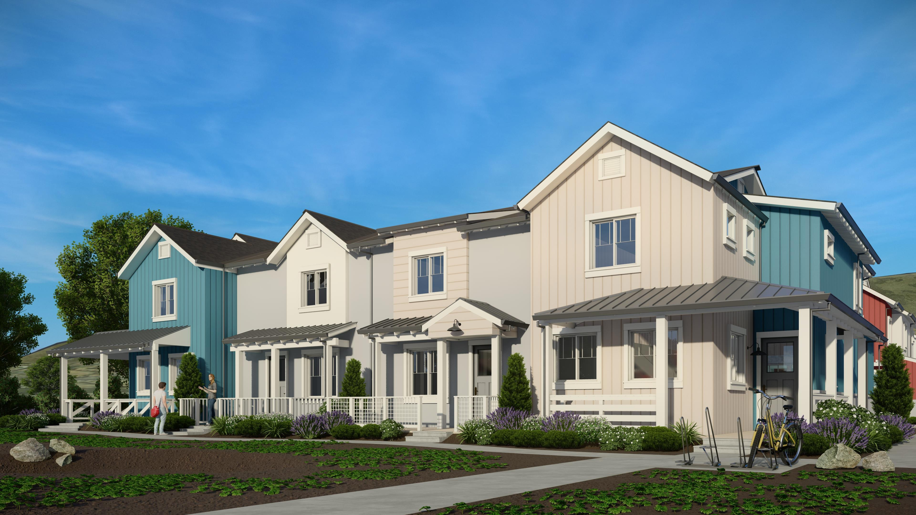Exterior featured in the Plan 2 By Ambient Communities in San Luis Obispo, CA