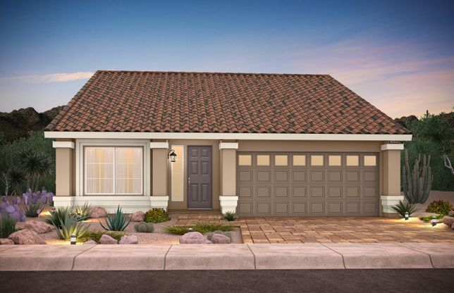 Plan 1552:Home Exterior A