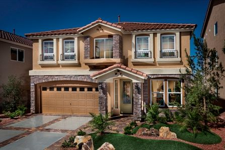 American west brentwood in las vegas nv new homes American west homes floor plans