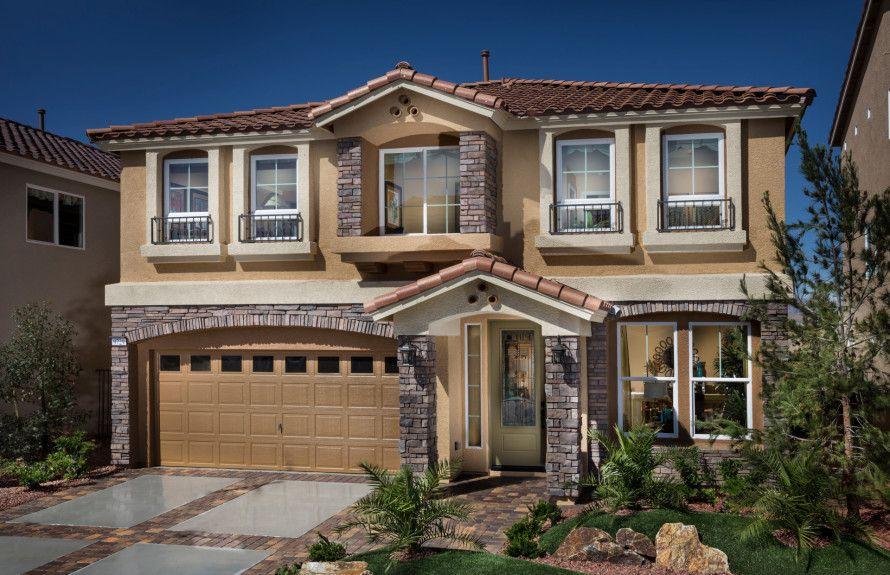 'Brentwood' by AmericanWest Homes - Nevada - Las Vegas in Las Vegas