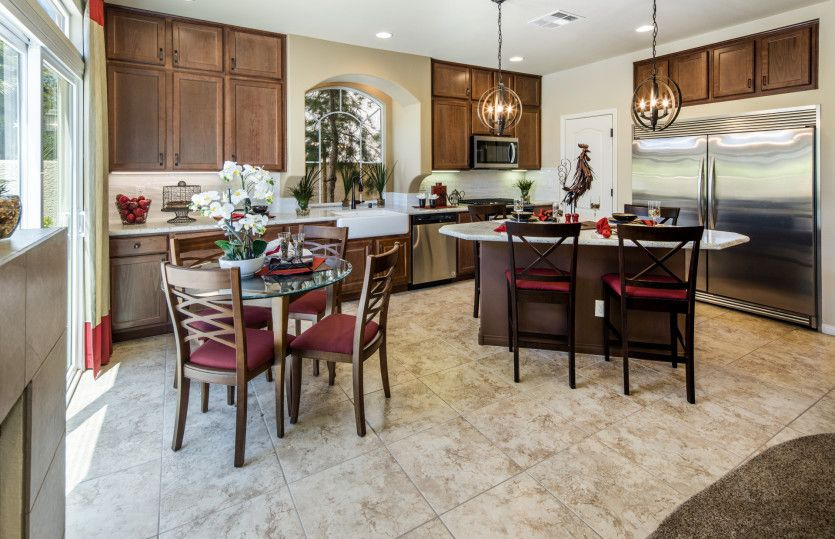 Kitchen featured in the Plan 2689 By AmericanWest Homes in Las Vegas, NV