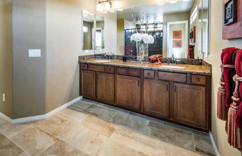 Bathroom featured in the Plan 2689 By AmericanWest Homes in Las Vegas, NV