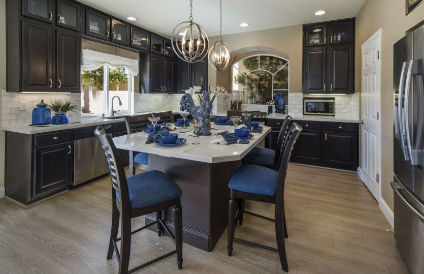 Kitchen featured in the Plan 2927 By AmericanWest Homes in Las Vegas, NV