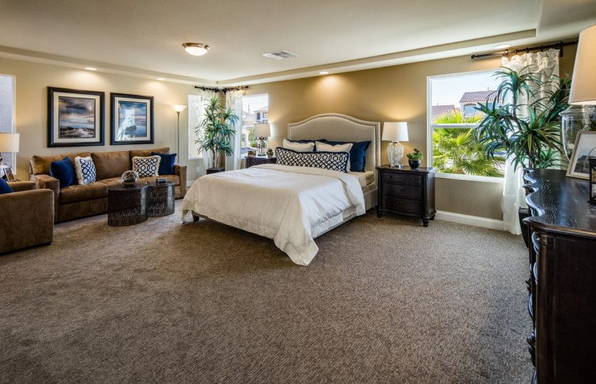 Bedroom featured in the Plan 2927 By AmericanWest Homes in Las Vegas, NV