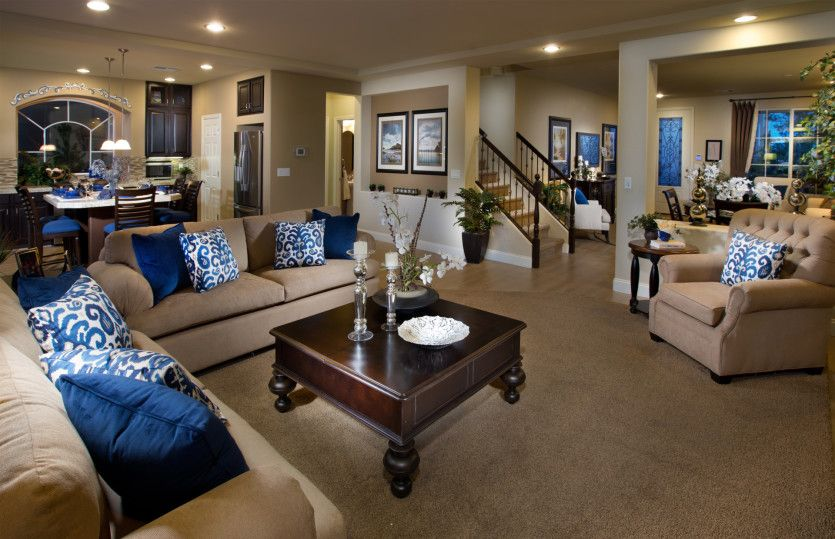 Living Area featured in the Plan 2927 By AmericanWest Homes in Las Vegas, NV
