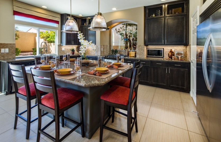 Kitchen featured in the Plan 3019 By AmericanWest Homes in Las Vegas, NV
