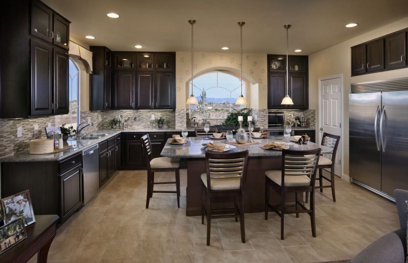 Kitchen featured in the Plan 3990 By AmericanWest Homes in Las Vegas, NV