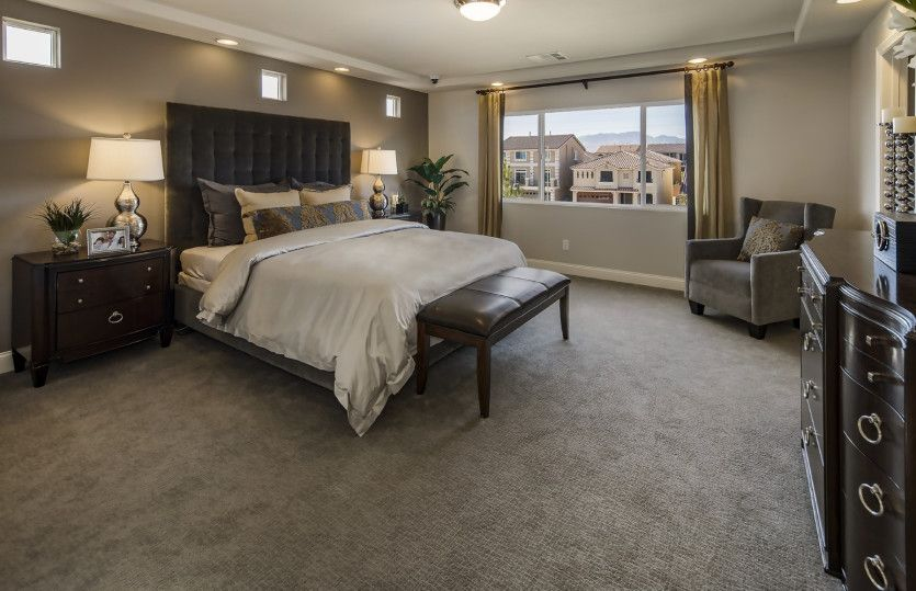 Bedroom featured in the Plan 3990 By AmericanWest Homes in Las Vegas, NV