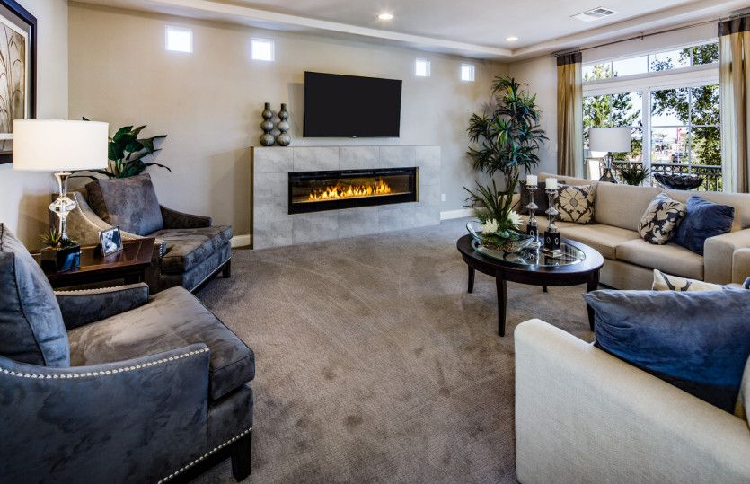 Living Area featured in the Plan 3990 By AmericanWest Homes in Las Vegas, NV