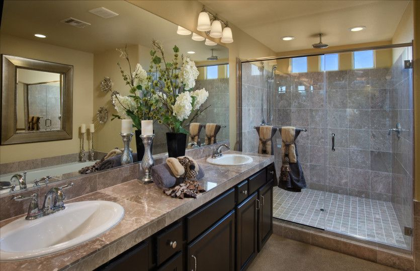 Bathroom featured in the Plan 3990 By AmericanWest Homes in Las Vegas, NV
