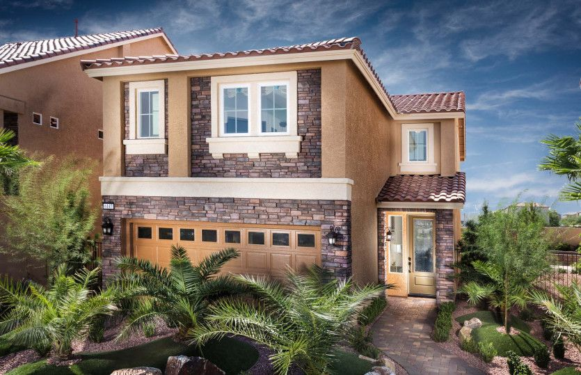 Exterior featured in The Winston By AmericanWest Homes in Las Vegas, NV