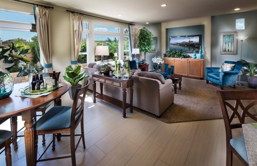 Living Area featured in The Winston By AmericanWest Homes in Las Vegas, NV