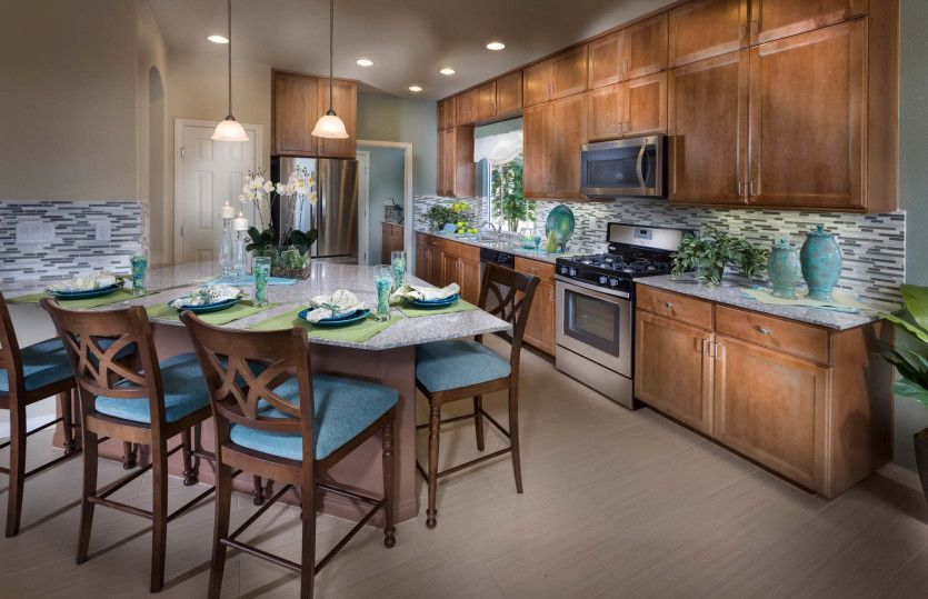 Kitchen featured in The Winston By AmericanWest Homes in Las Vegas, NV