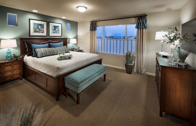 Bedroom featured in The Winston By AmericanWest Homes in Las Vegas, NV