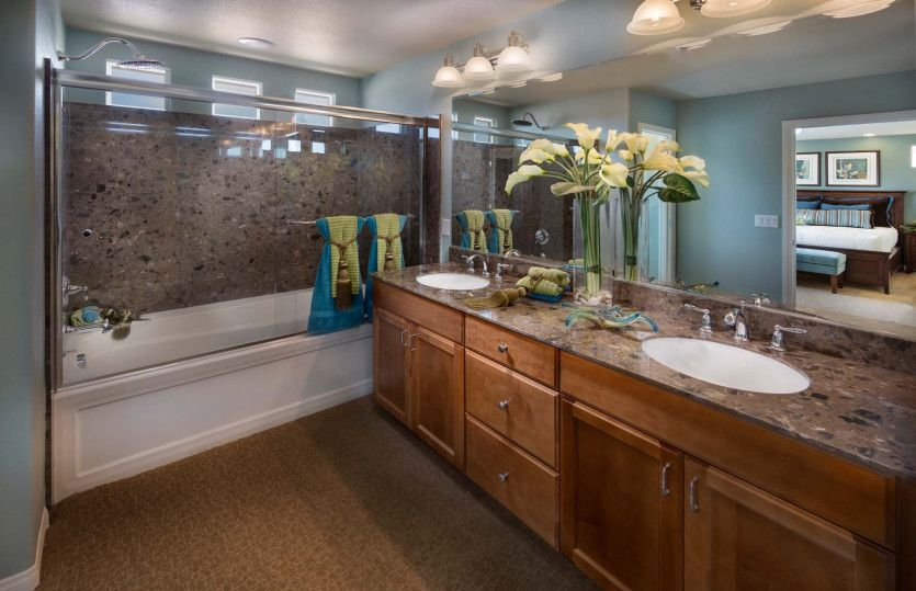 Bathroom featured in The Winston By AmericanWest Homes in Las Vegas, NV