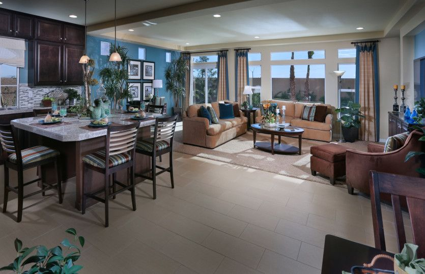 Living Area featured in The Faberge By AmericanWest Homes in Las Vegas, NV