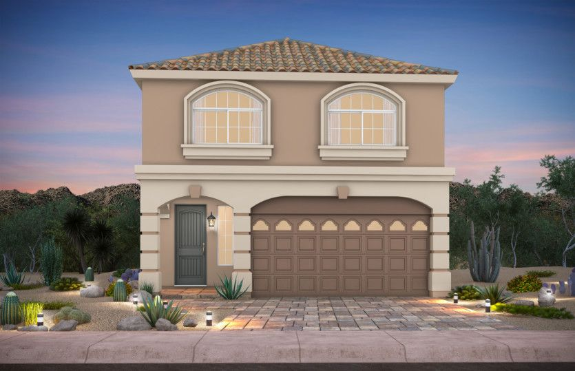 Exterior featured in The Faberge By AmericanWest Homes in Las Vegas, NV