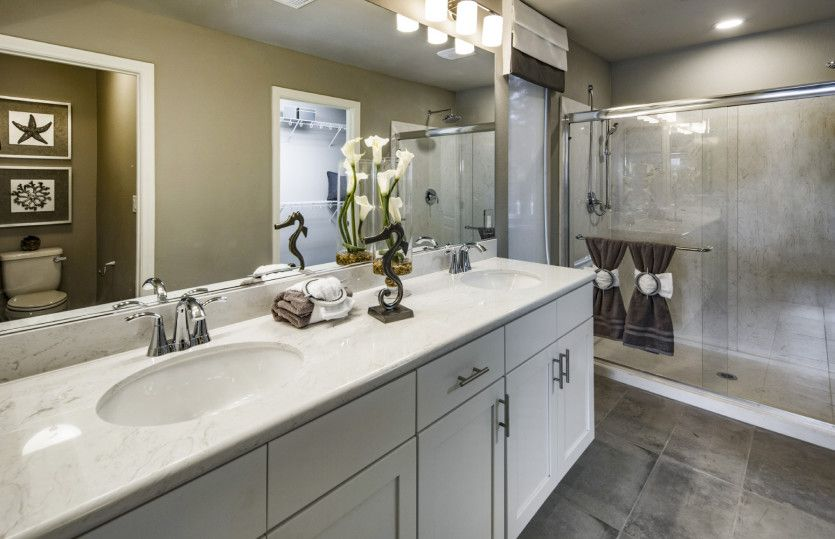 Bathroom featured in The Cartier By AmericanWest Homes in Las Vegas, NV