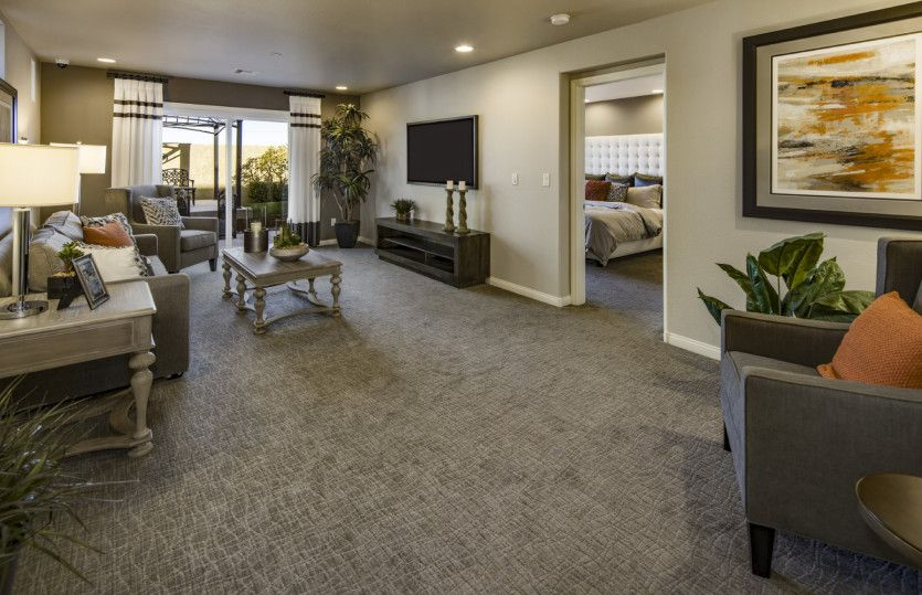Living Area featured in The Cartier By AmericanWest Homes in Las Vegas, NV