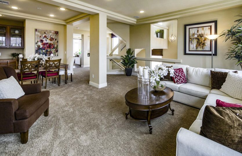 Living Area featured in The Versace By AmericanWest Homes in Las Vegas, NV