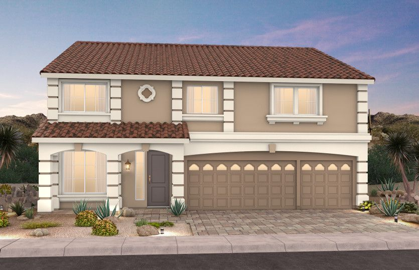 Exterior featured in The Hannah By AmericanWest Homes in Las Vegas, NV
