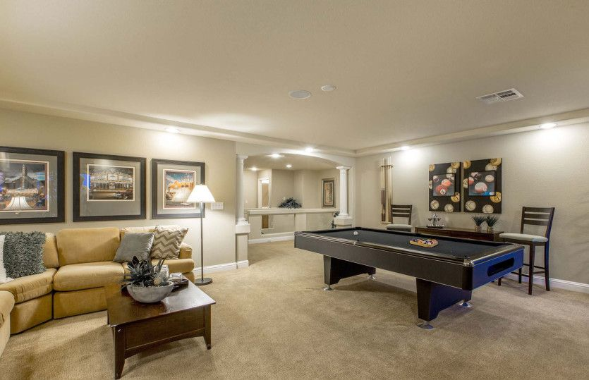 Living Area featured in The Landon By AmericanWest Homes in Las Vegas, NV