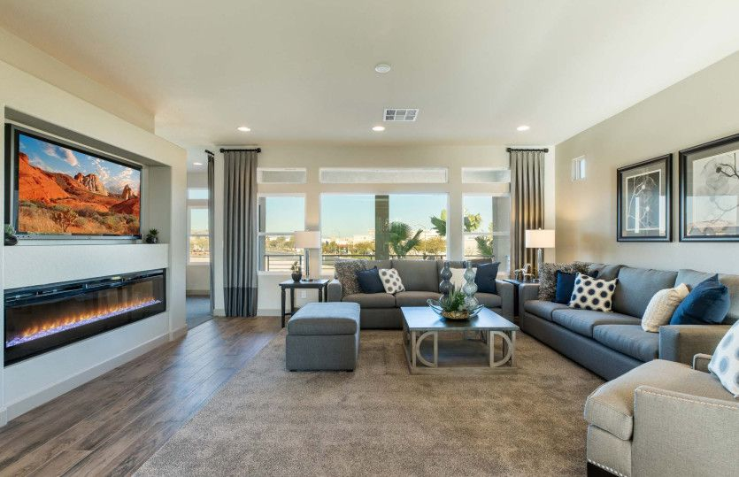 Living Area featured in The Madison By AmericanWest Homes in Las Vegas, NV