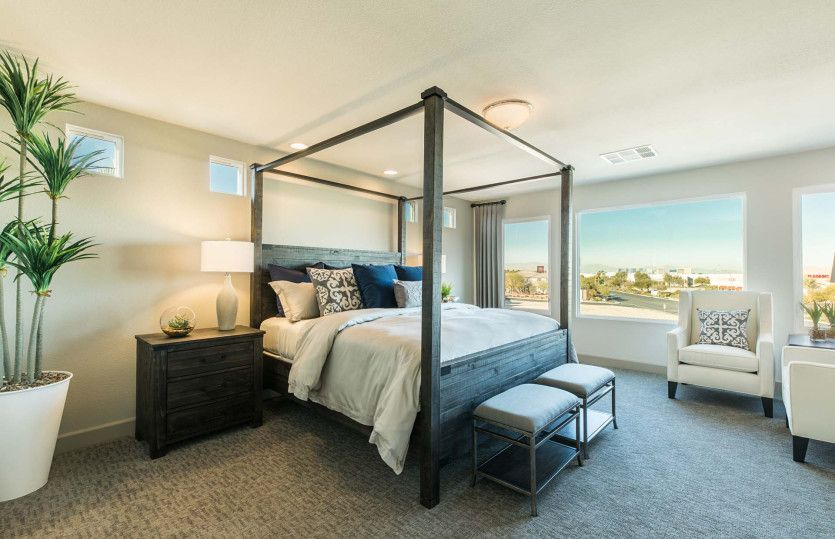 Bedroom featured in The Madison By AmericanWest Homes in Las Vegas, NV
