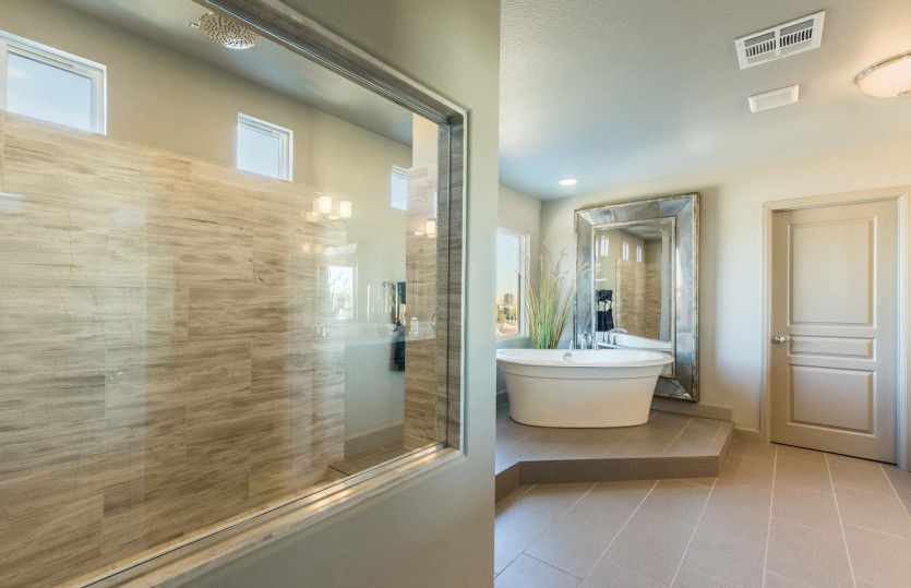 Bathroom featured in The Madison By AmericanWest Homes in Las Vegas, NV
