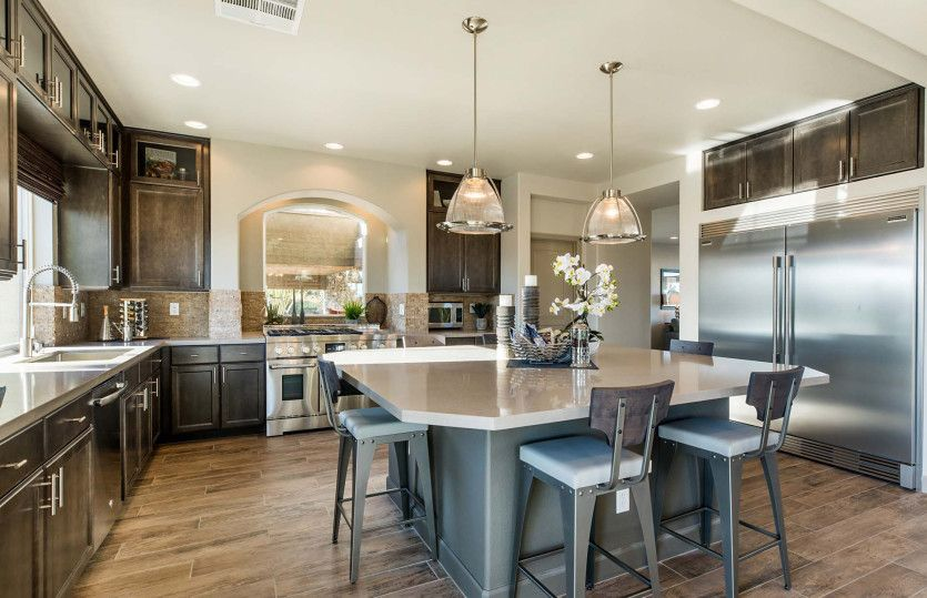 Kitchen featured in The Madison By AmericanWest Homes in Las Vegas, NV