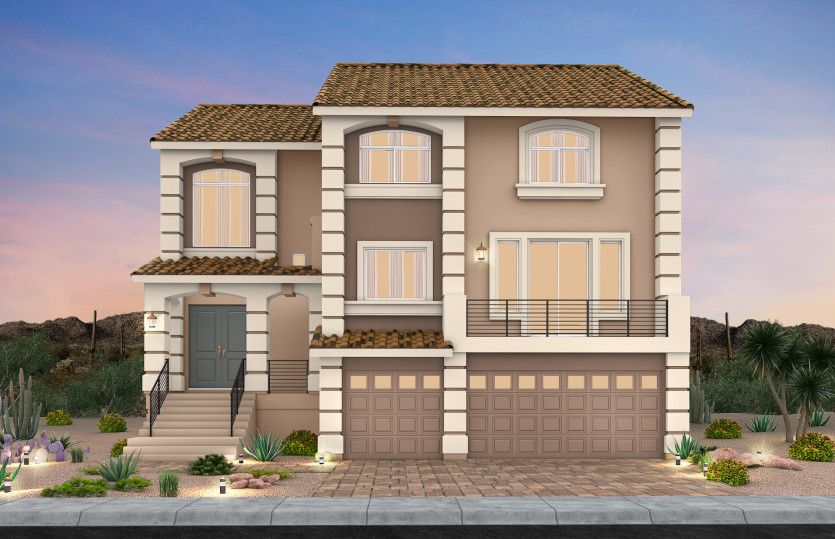 Exterior featured in The Madison By AmericanWest Homes in Las Vegas, NV