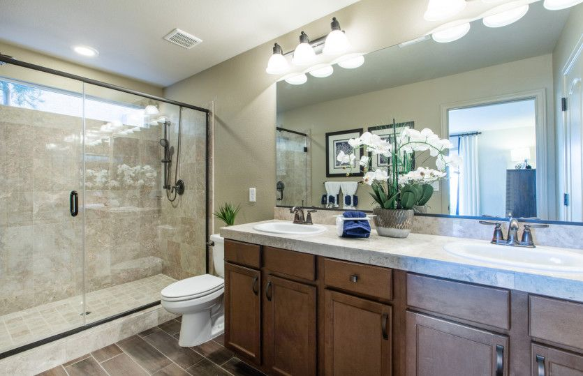 Bathroom featured in The Topaz By AmericanWest Homes in Las Vegas, NV