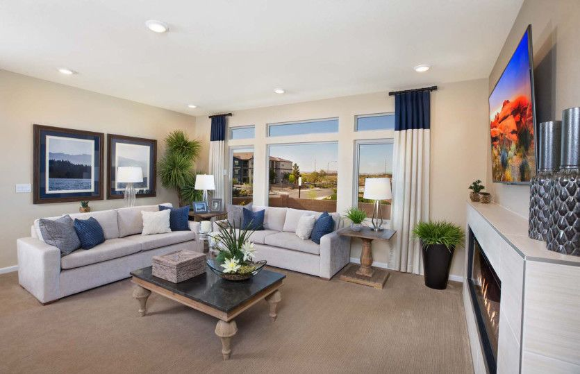 Living Area featured in The Carson By AmericanWest Homes in Las Vegas, NV
