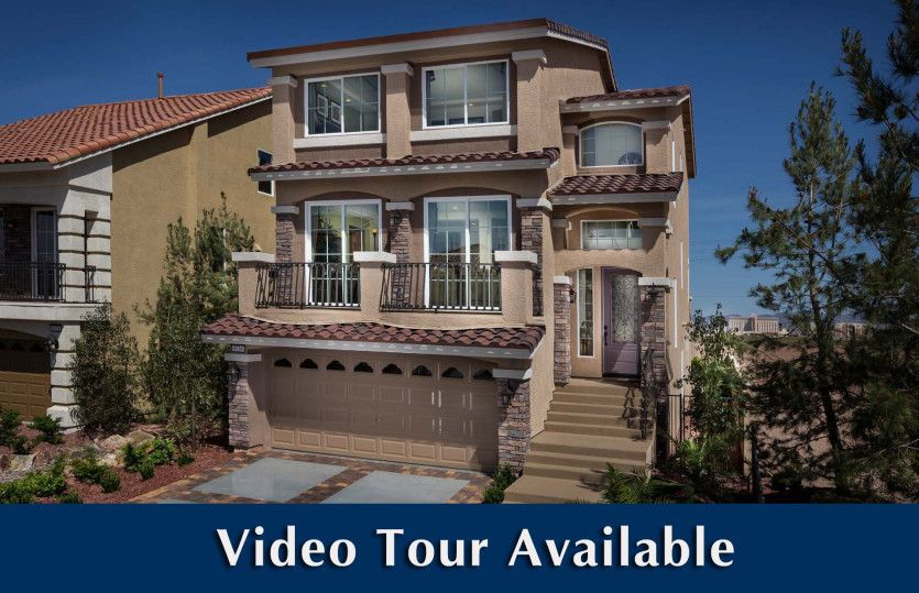 Exterior featured in The Versace By AmericanWest Homes in Las Vegas, NV