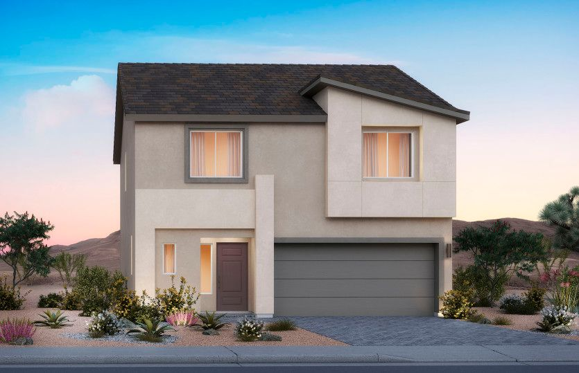 Exterior featured in the Halton By AmericanWest Homes in Las Vegas, NV
