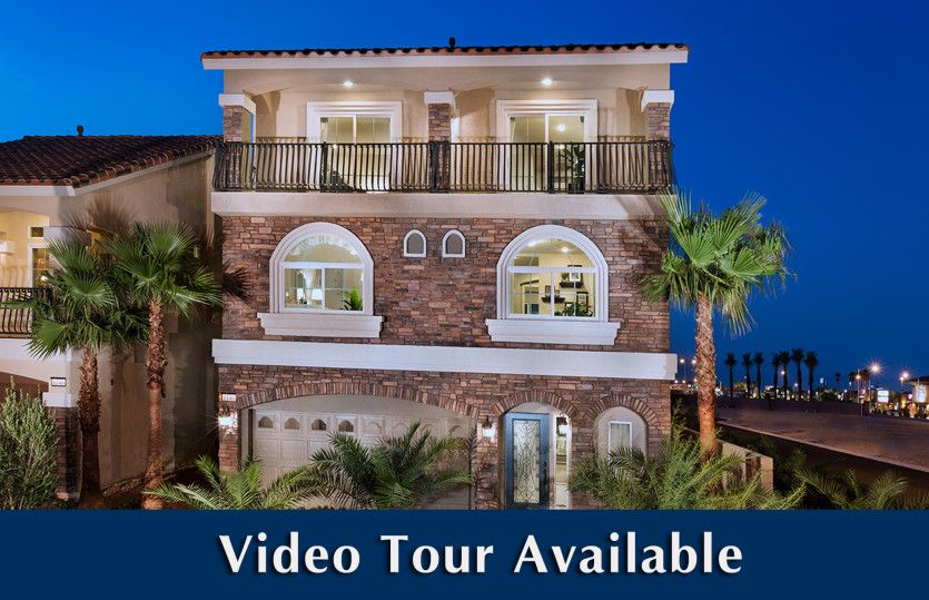 Exterior featured in the Plan 2958 By AmericanWest Homes in Las Vegas, NV