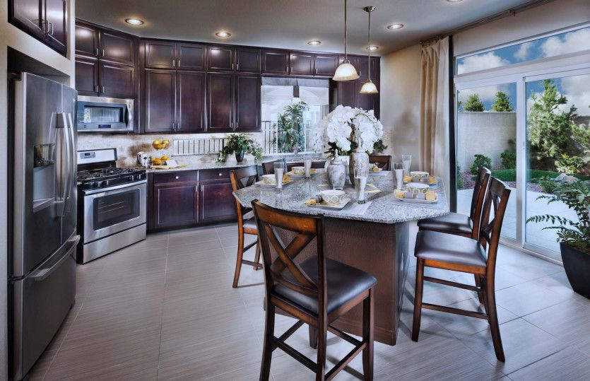 Kitchen featured in the Plan 2958 By AmericanWest Homes in Las Vegas, NV